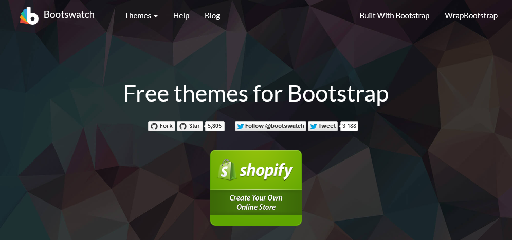 Bootswatch. Free themes for Bootstrap.