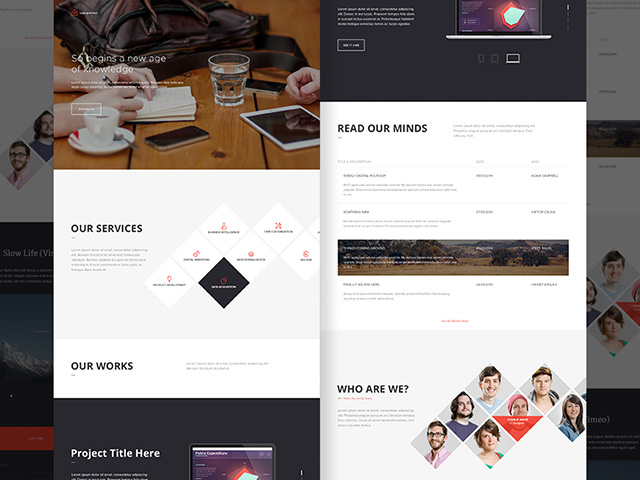free-psd-office-landing-page