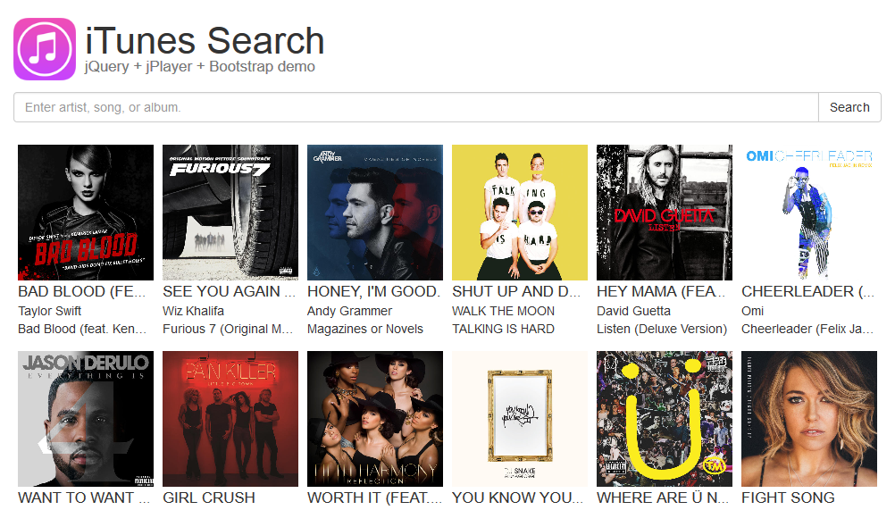itunessearch