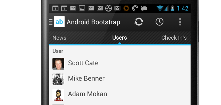 android-bootstrap