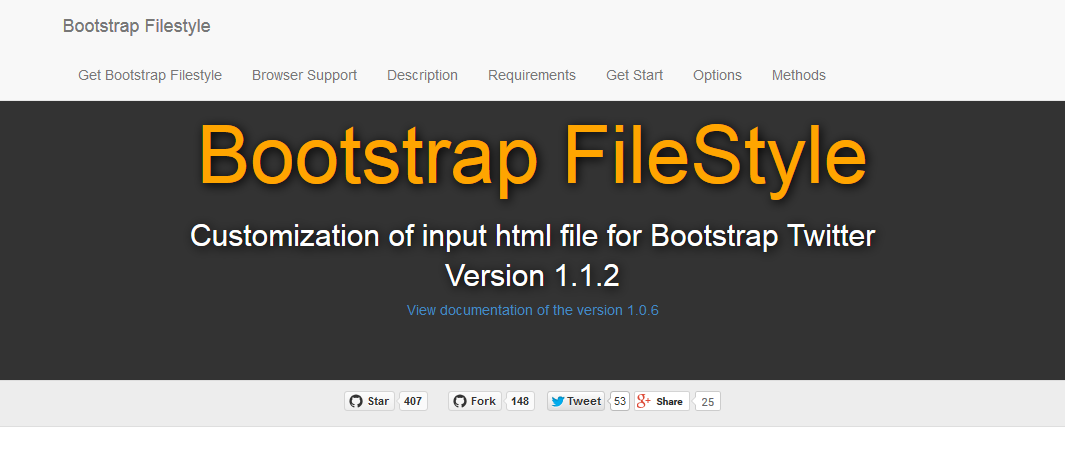 bootstrap-filestyle