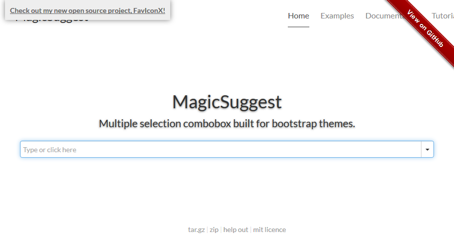 magicsuggest-bootstrap