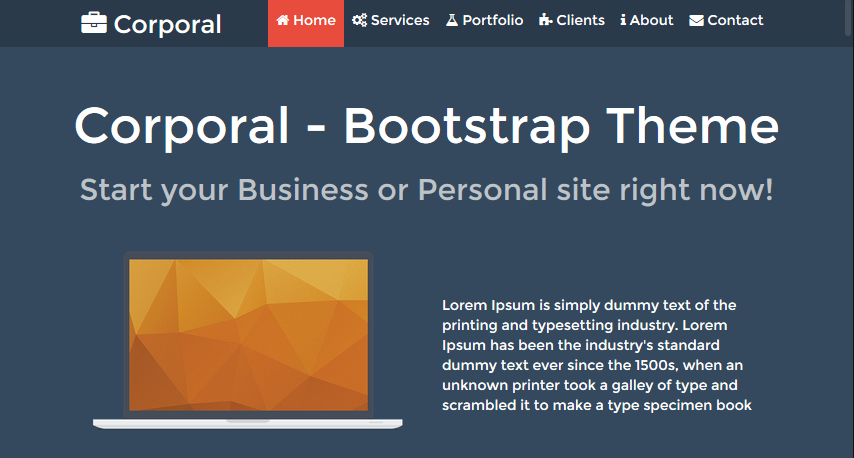 corporal-bootstrap