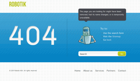 404 not found html template - web design tweets tweets for designers and developers
