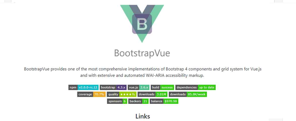 BootstrapVue – Bootstrap 4