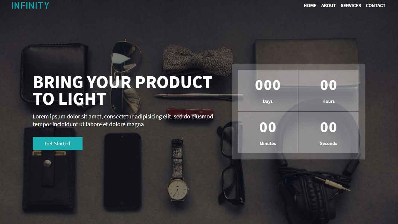 bootstrap 4 template download