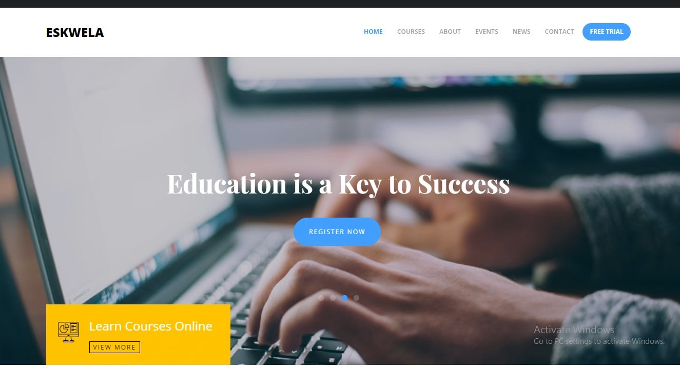 online education website