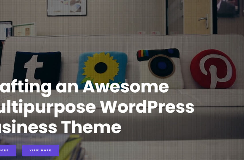 20+ Best Responsive Free WordPress Business Themes 2019