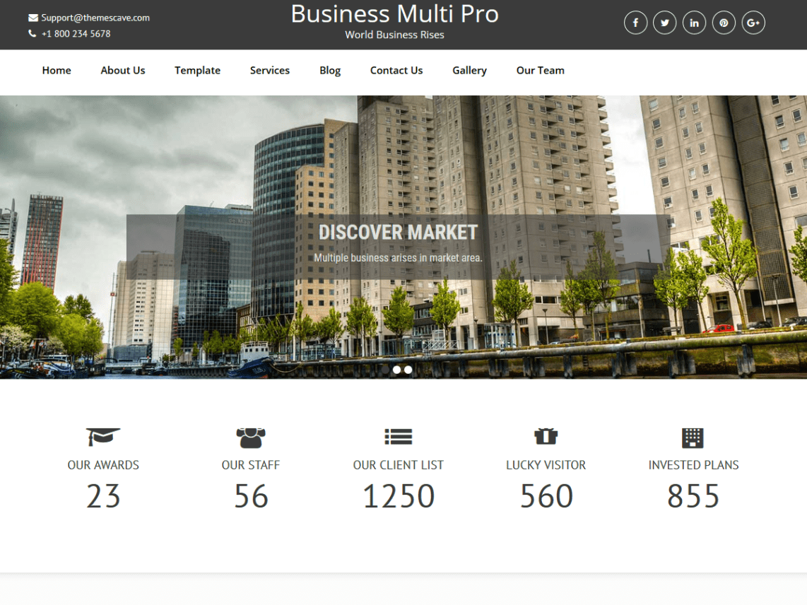 download free wordpress business theme