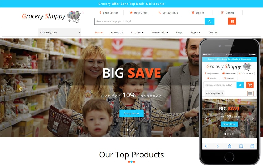 bootstrap ecommerce download