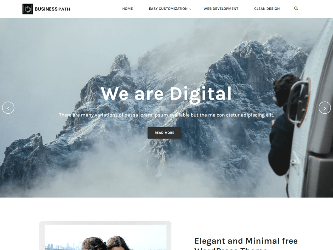 free wordpress business theme download