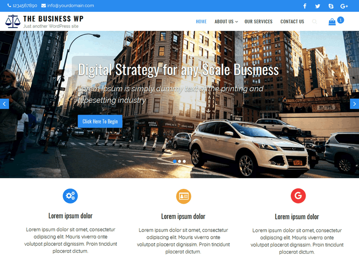 education free wordpress theme