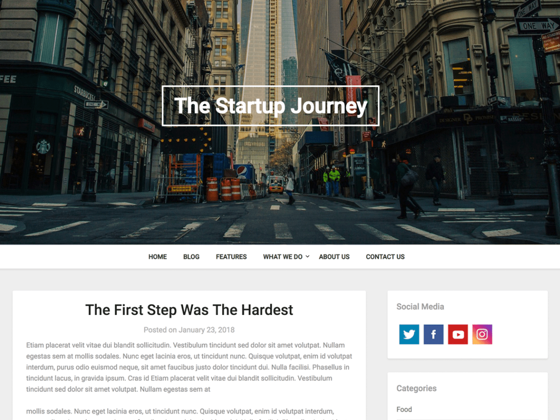 business consulting free wordpress theme