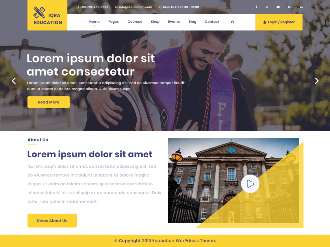 school free wordpress theme