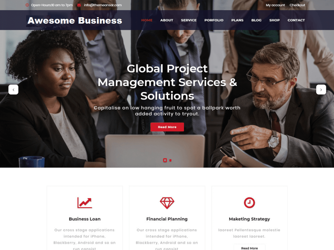 wordpress download theme