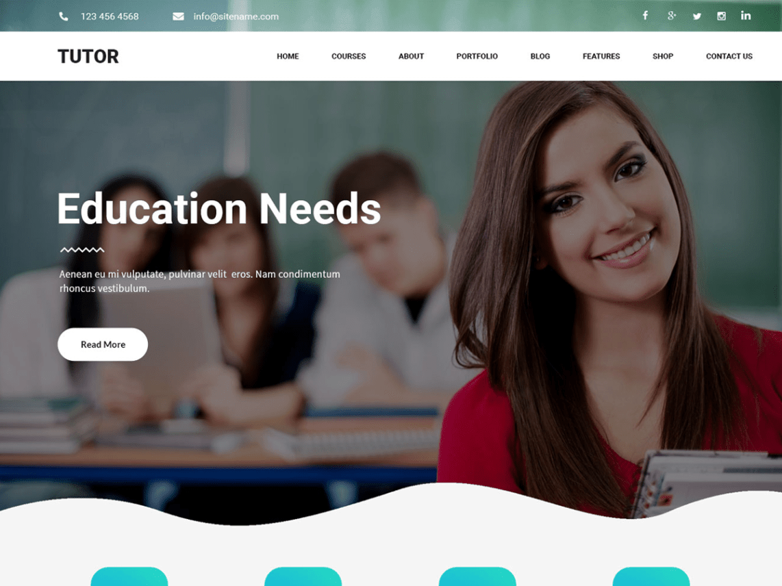 wordpress educational themes