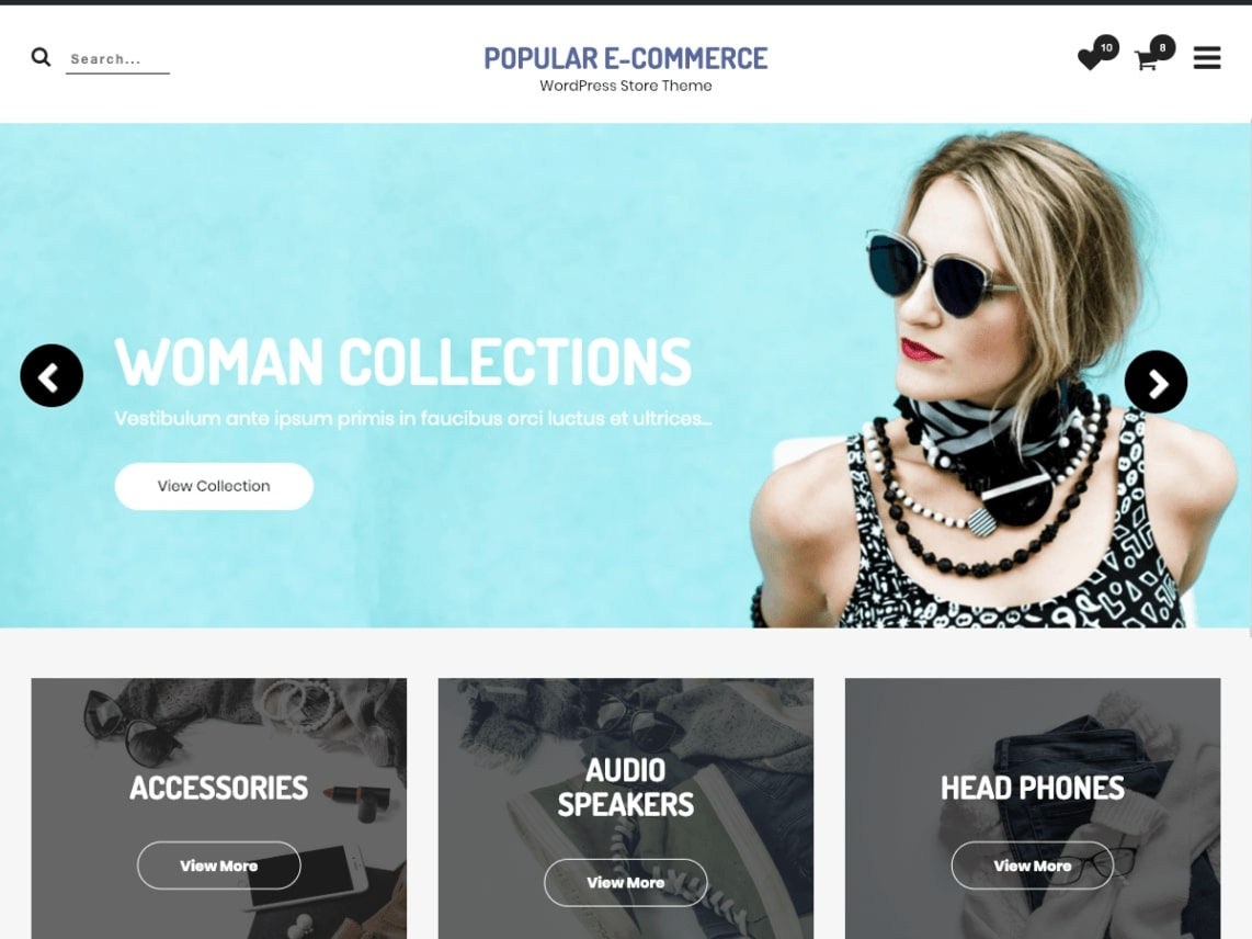 best-wordpress shopping theme