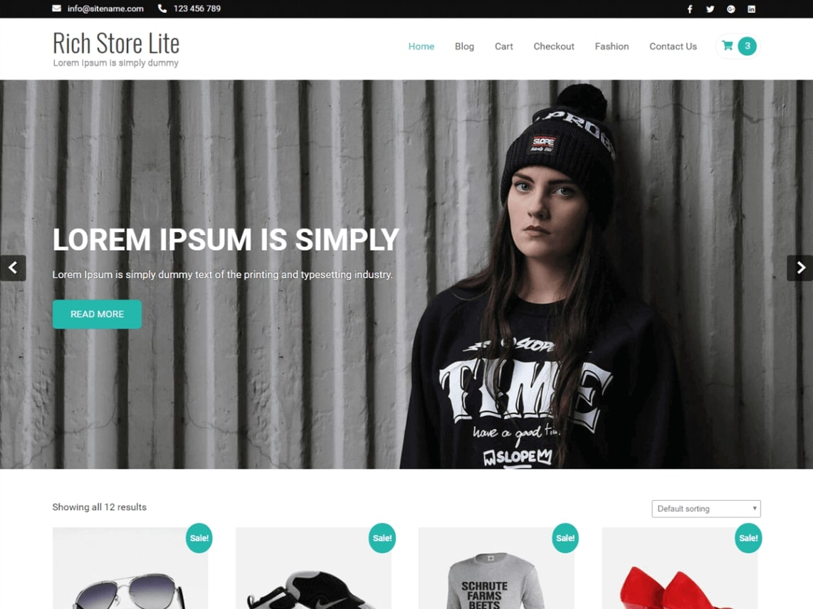 top free wordpress-theme