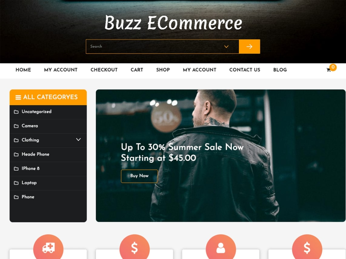 wordpress ecommerce template download