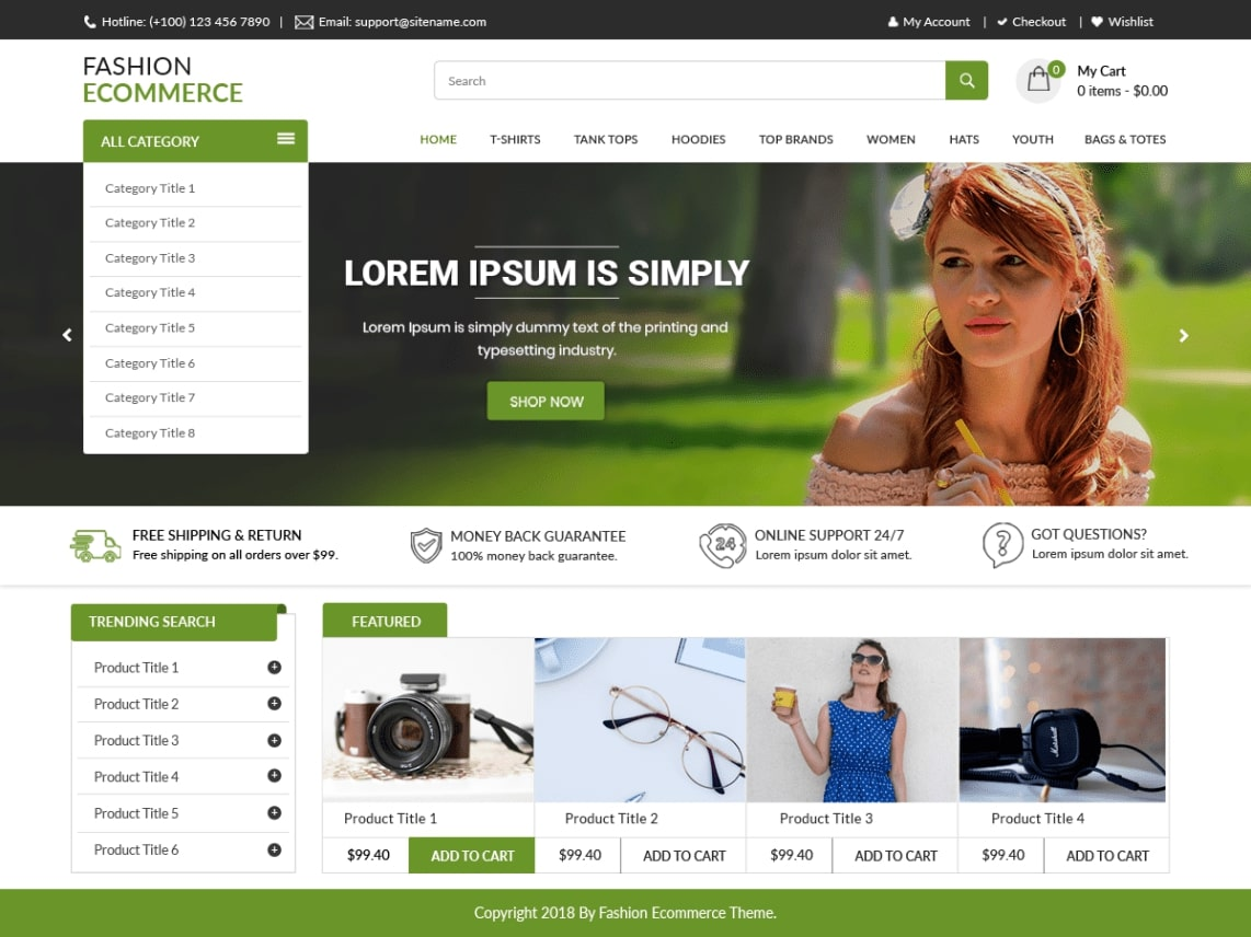 wordpress shopping theme