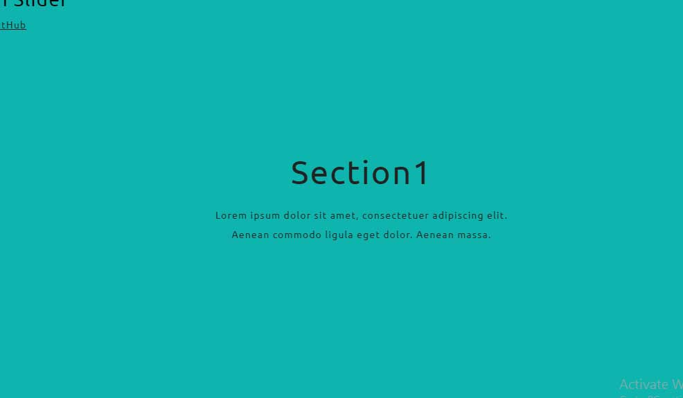 JavaScript Fullscreen Slider