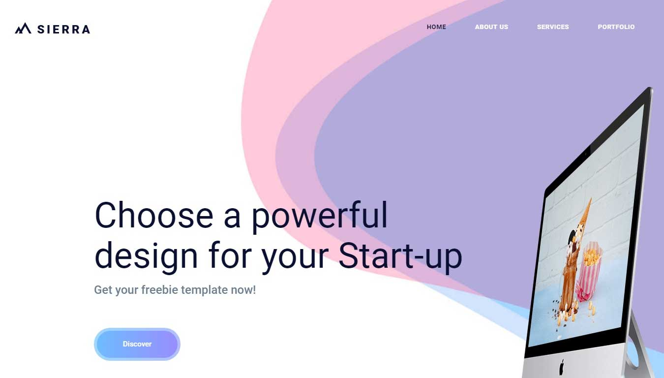 bootstrap free it company template