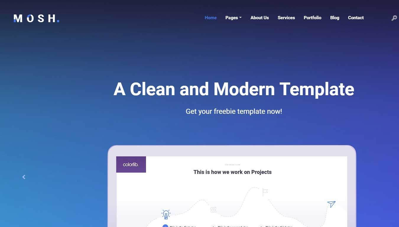 bootstrap4 free software template