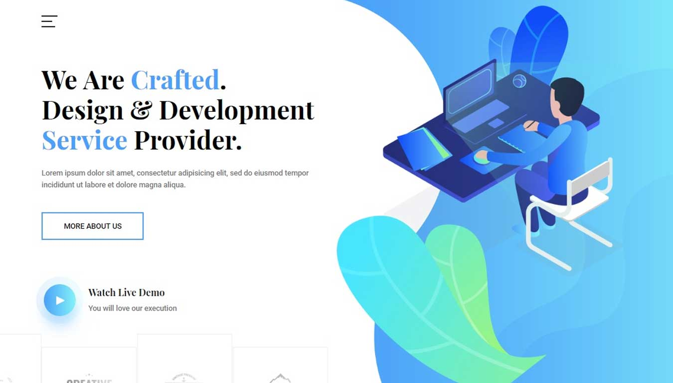 it software website template