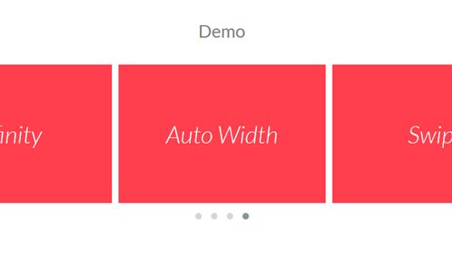 Touch enabled jQuery plugin – Owl Carousel.