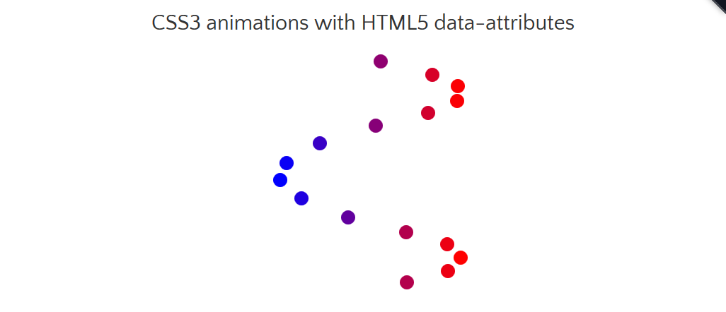 CSS3 animations with HTML5 data-attributes