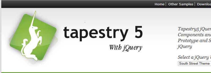 Tapestry 5 jQuery integration Module